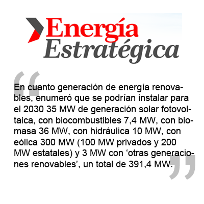 CONICET propone incorporar 400 MW de energías renovables en Córdoba durante los proximos 15 años